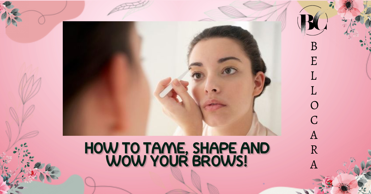 5 tips to shape your eyebrows